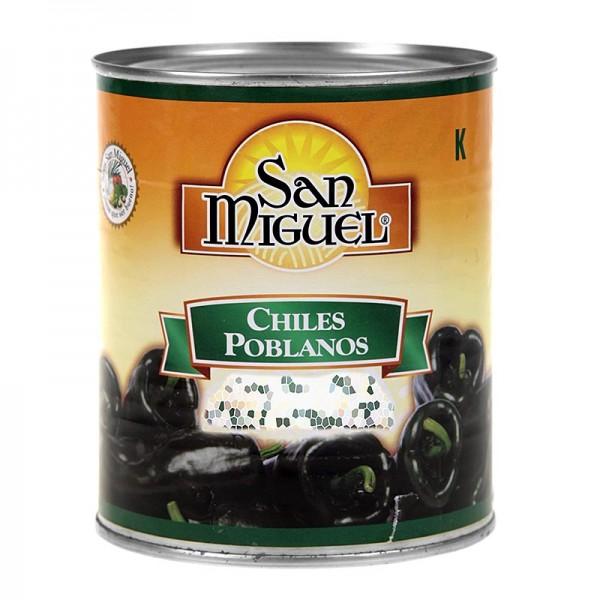 San Miguel - Chili Schoten - Poblano ganz zum Füllen