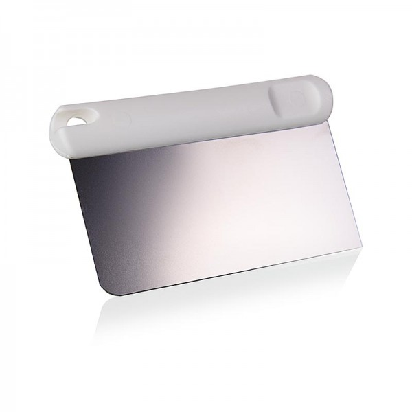 Deli-Vinos Kitchen Accessories - Teigschaber Kunststoffgriff mit Edelstahlklinge 13x6cm