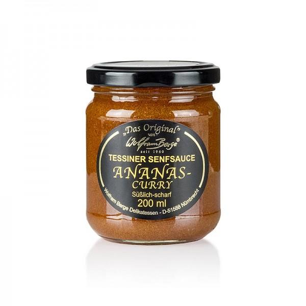Original Tessiner - Original Tessiner Ananas-Curry-Senf-Sauce
