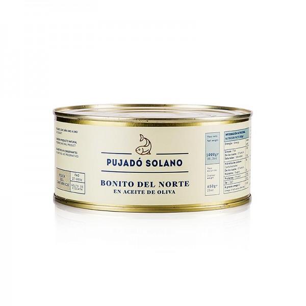 Pujado Solano - Bonito del Norte weißer Thunfisch in Olivenöl Pujado Solano