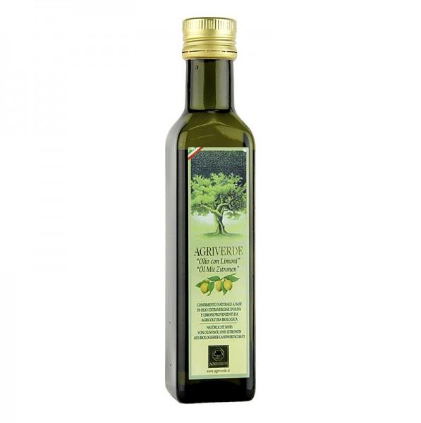 Agriverde - Limonen-Olivenöl Olio con limoni (Öl mit Zitrone) Agriverde BIO