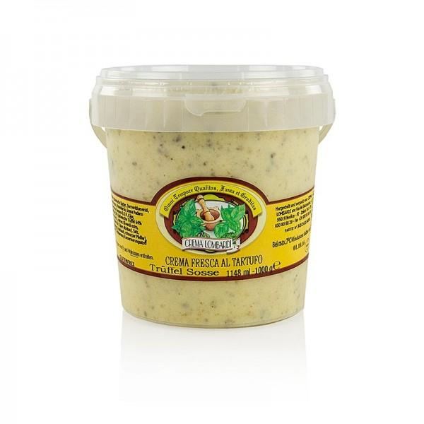 Vecchia Cucina Toscana - Trüffel-Creme mit Frühlings- und Sommertrüffel - Crema fresco al Tartuffo
