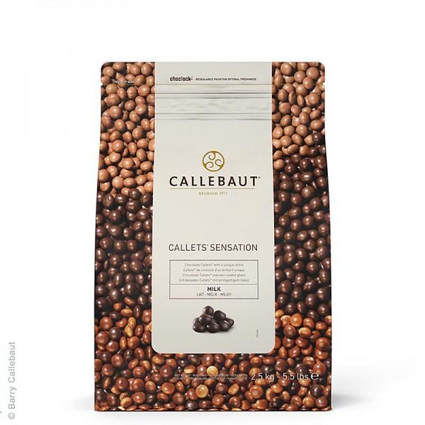 Callebaut - Callets Sensation Milch Vollmilch-Schokoladen-Perlen 33% Kakao
