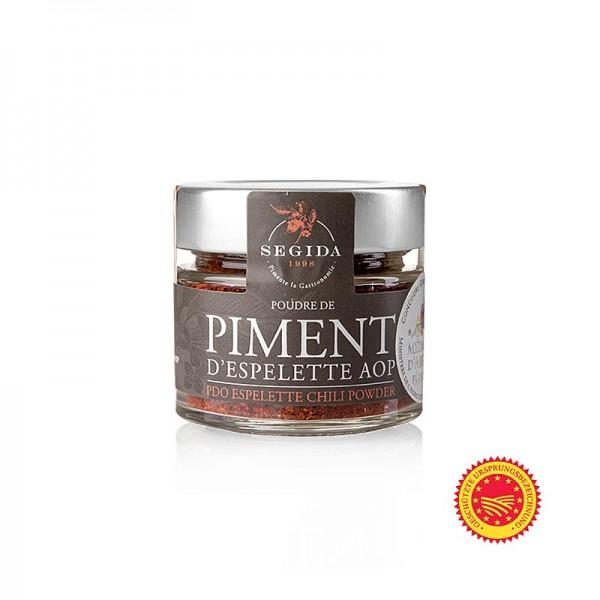 Gewürzgarten Selection - Piment d´Espelette der französische Pfeffer Chilipulver m.g.U.