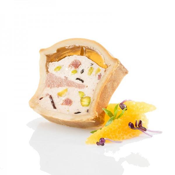 Swiss Gourmet - Pâté Napoleon vom Schwein mit Leber im Teigmantel TK