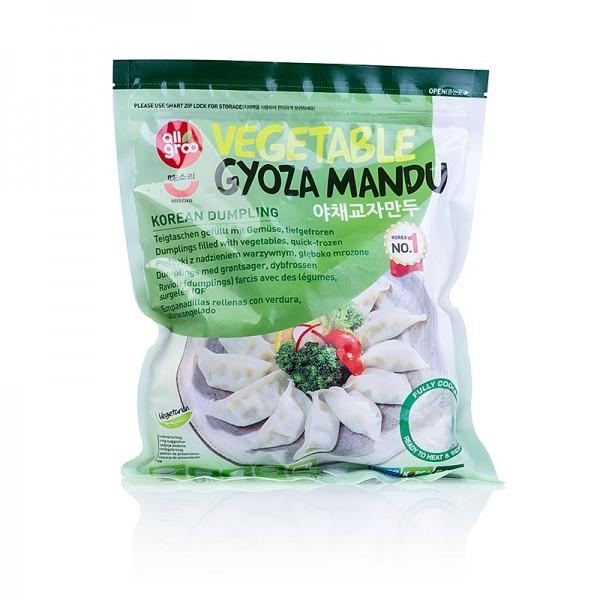 Deli-Vinos Asia - Wan Tan - Gyoza Teigtaschen mit Gemüsefüllung (Tofu Lauch Kohl Soja) TK