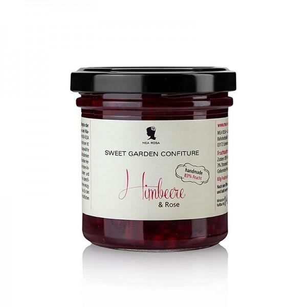 Sweet Garden Confiture - Sweet Garden Confiture - Himbeer & Rosen Fruchtaufstrich Mea Rosa