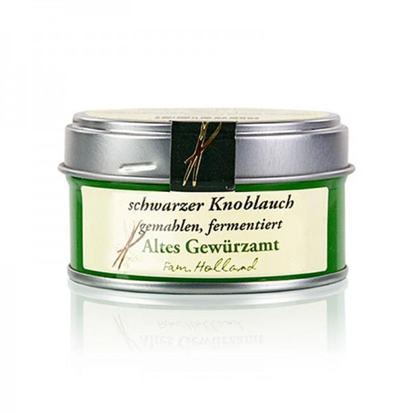 Altes Gewürzamt - Schwarzer Knoblauch gemahlen fermentiert Altes Gewürzamt