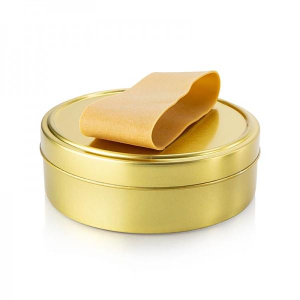 Deli-Vinos Kitchen Accessories - Kaviardose - gold unbedruckt mit Verschluss-Gummi ø11.5cm für 500g Kaviar