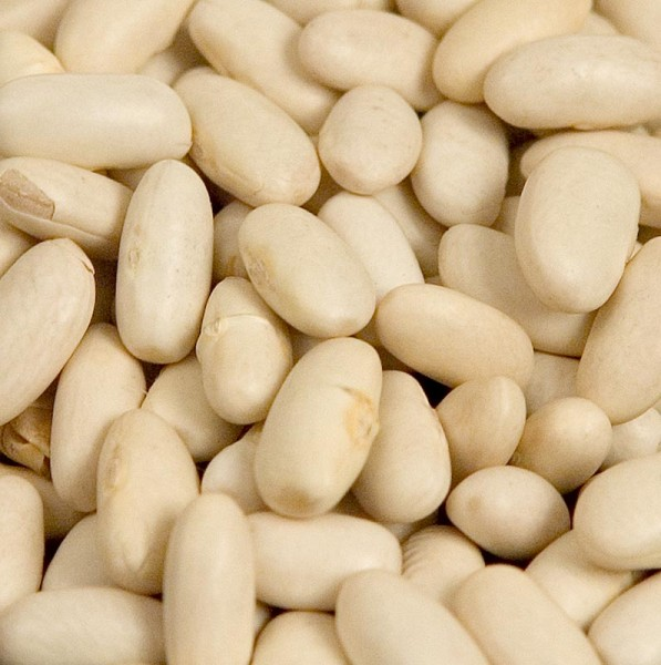 Deli-Vinos Legumes - Bohnen Lingots blanc weiße Bohnen mittelgroß getrocknet Frankreich