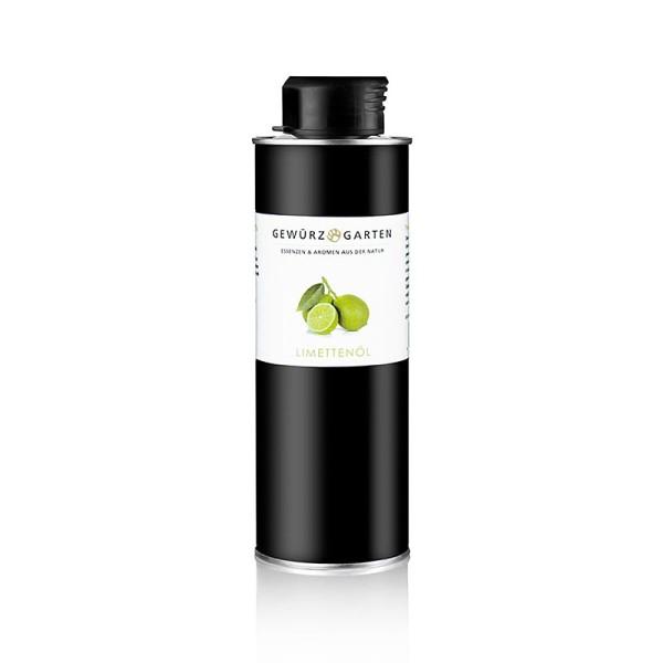 Gewürzgarten Selection - Gewürzgarten Limettenöl in nativem Olivenöl extra