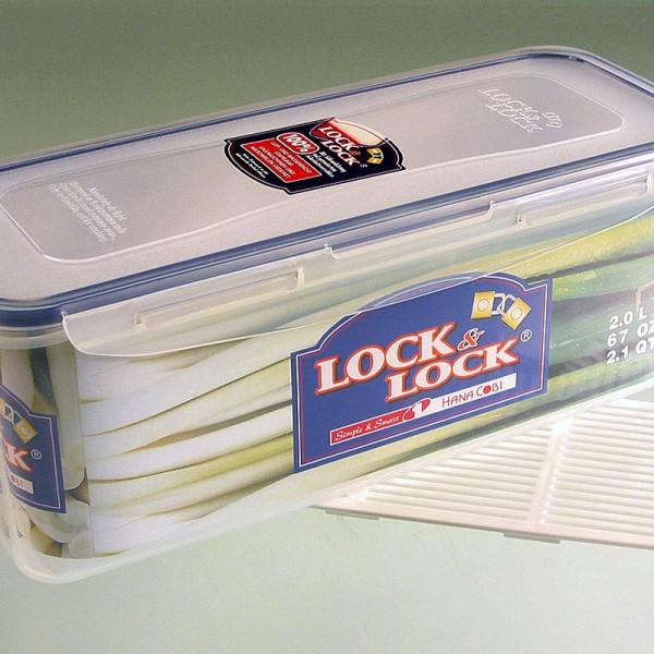 Lock & Lock - Frischebox Lock & Lock 2.0 l rechteckig 279x116x102mm mit Ablaufgitter