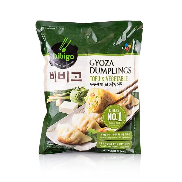 Deli-Vinos Asia - Wan Tan - Gyoza Tofu & Gemüse Dumpling (Dim Sum) Bibigo TK