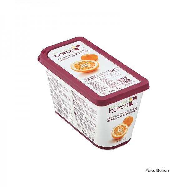 Les Vergers Boiron - Püree-Orangen (Orange amère) mit 15% Bitterorange ungezuckert TK