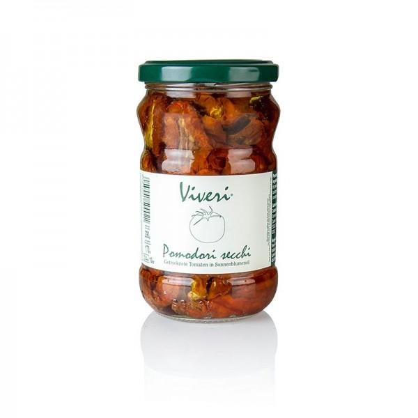 Viveri - Eingelegte getrocknete Tomaten in Sonnenblumenöl