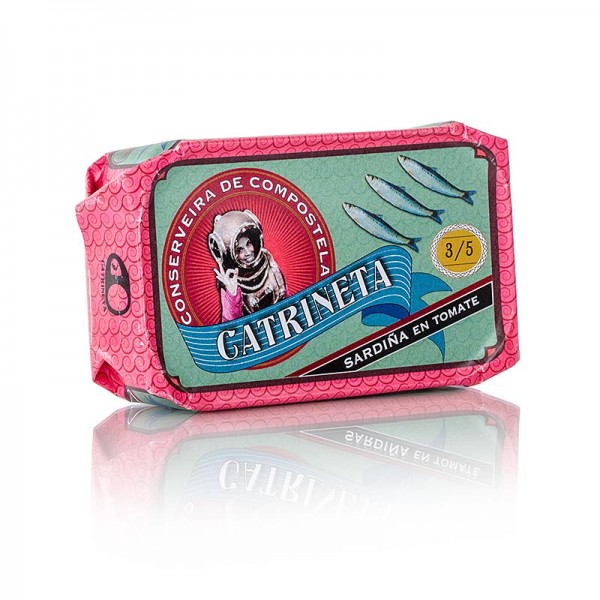 Catrineta - Sardinen (sardinas en tomate) ganz in Tomatensoße Spanien
