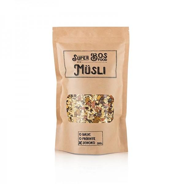 Bos Food - BOS FOOD Super Müsli - Schoko
