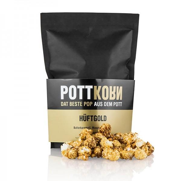 Pottkorn - Pottkorn - Hüftgold Popcorn mit Butterkaramell Muscovado Meersalz