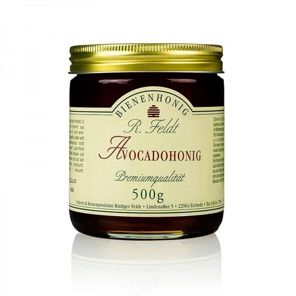 R. Feldt Bienenhonig - Avocado-Honig Mexiko dunkel flüssig leichtes Pflaumenaroma
