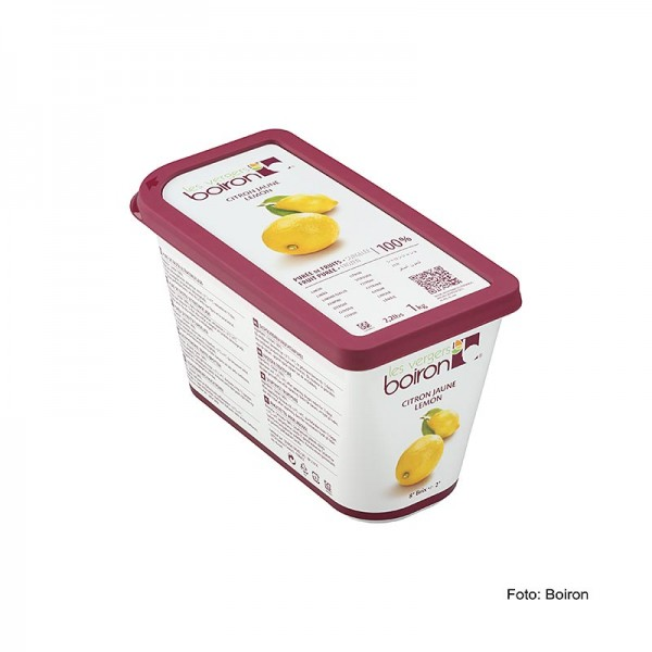 Les Vergers Boiron - Püree-Zitronen Früchte aus Sizilien ungezuckert TK