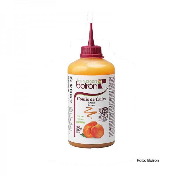 Les Vergers Boiron - Coulis Aprikose Sauce 20% Zucker Squeeze Flasche TK