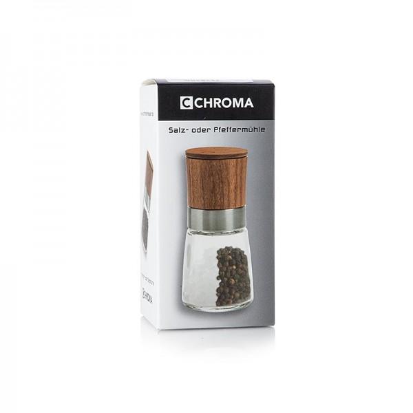 Chroma - GM 0002 Chroma Pfeffer-/Salzmühle mit Deckel 13.6cm