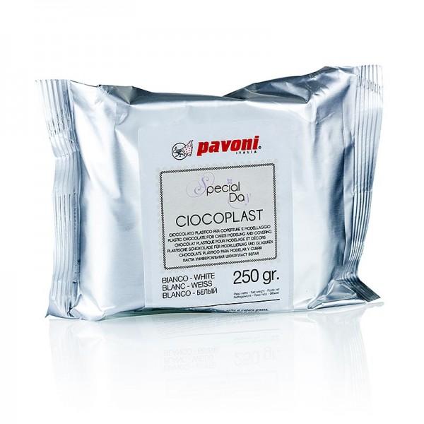 Pavoni - Modellierbare Schokolade weiß Pavoni