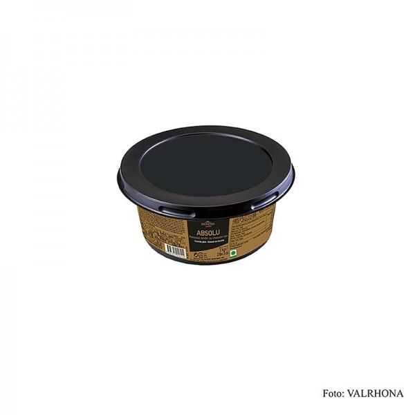 Valrhona - Nappage - Absolu Bitterschokolade - Schokoladenguss