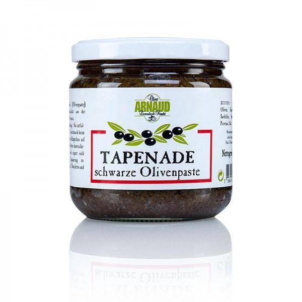Arnaud - Oliven-Paste - Tapenade schwarz Arnaud