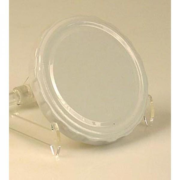Deli-Vinos Kitchen Accessories - Weißer Deckel für Sturzgläser 82mm 230/440 ml