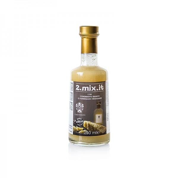 Carandini - Balsamico Bianco Condimento Sauce mit Parmigiano Reggiano Carandini