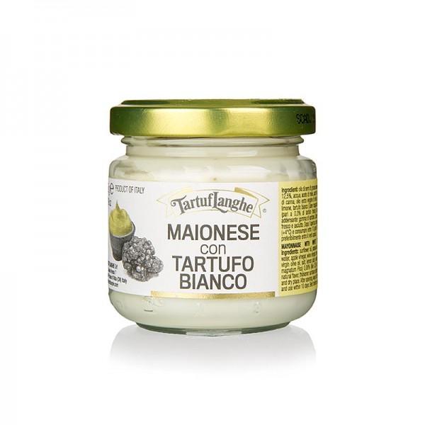 Tartuflanghe - TARTUFLANGHE Mayonnaise mit weißem Trüffel