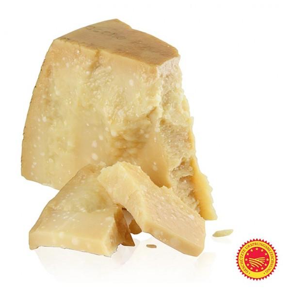 Parmigiano Reggiano di Vacche Rosse - Parmesankäse - Parmigiano Reggiano di Vacche Rosse DOP.1te Qualität 24 Monate