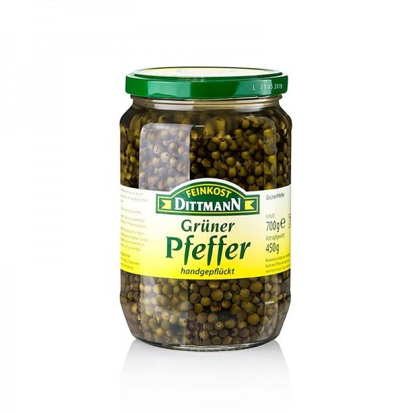 Feinkost Dittmann - Grüner Pfeffer in Salzlake