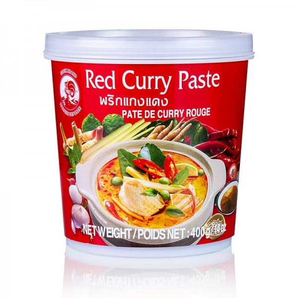 Cock Brand - Curry Paste rot Cock Brand