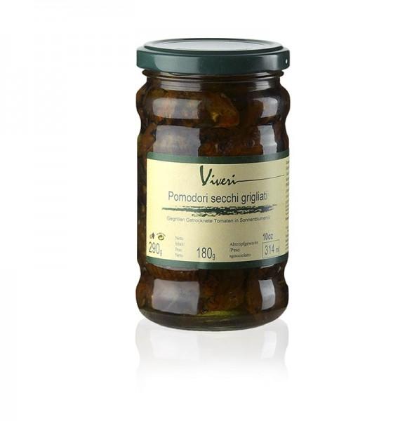 Viveri - Eingelegte getrocknete gegrillte Tomaten mit Kapern & Oliven