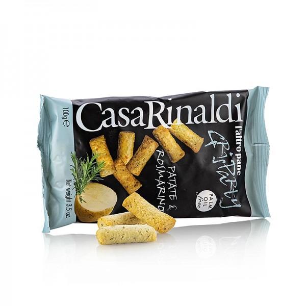 Casa Rinaldi - Grisparty - Mini Grissini Knabbergebäck mit Kartoffel&Rosmar Casa Rinaldi