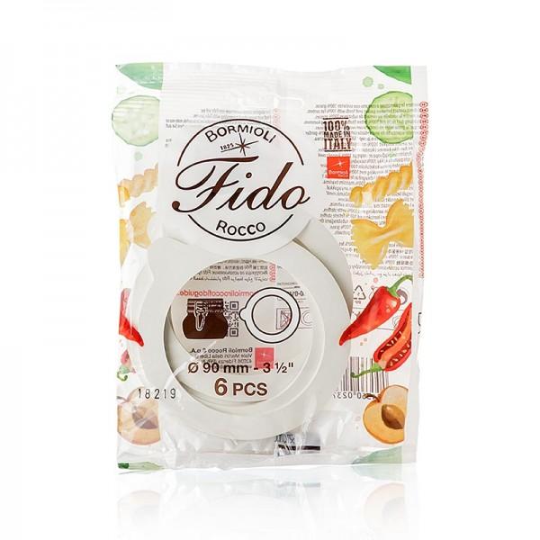 Fido - Gummiringe für Drahtbügelglas Fido 68x90x2.5mm