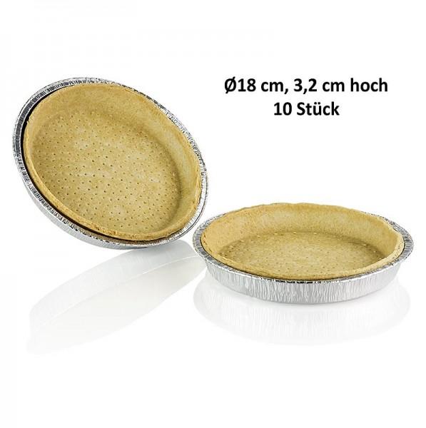 Pidy - Quiche Blätterteig in Aluschale 3.2cm hoch ø 18cm Pidy