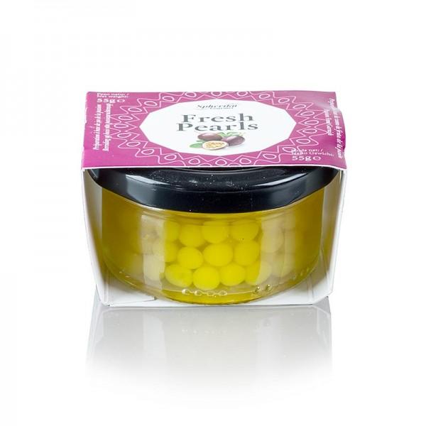 Les Perles - Fruchtkaviar Passions/Maracuja Perlgröße 6-8 mm Sphären