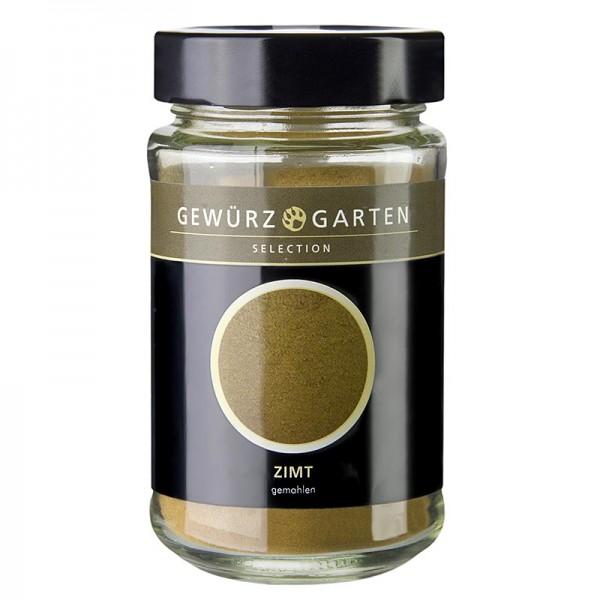 Gewürzgarten Selection - Gewürzgarten Zimt gemahlen 120g Glas (Cassia Zimt/ Herkunft Indonesien)