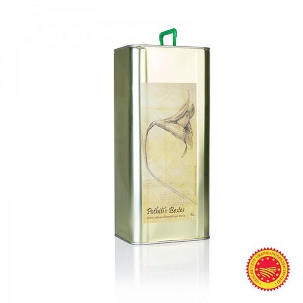 Pothiti - Pothiti´s Bestes Olivenöl Extra Nativ Koroneiki/Psilolia Oliven Kreta