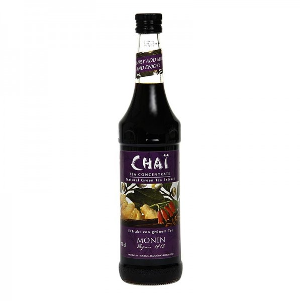 Monin - Chai - grüner Tee Extrakt