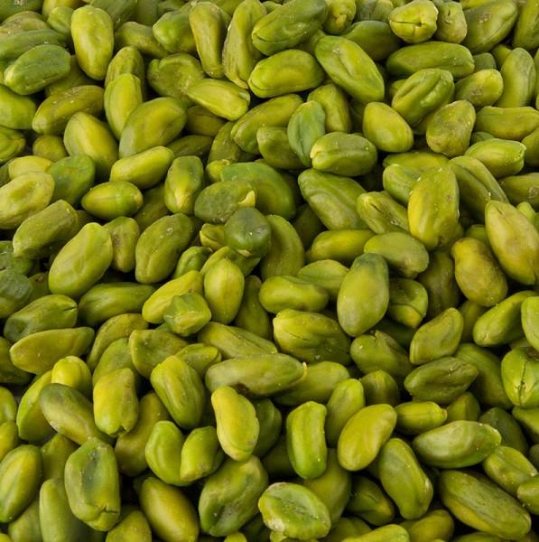 Deli-Vinos Snack Selection - Pistazien geschält mittelgrün Küchenqualität