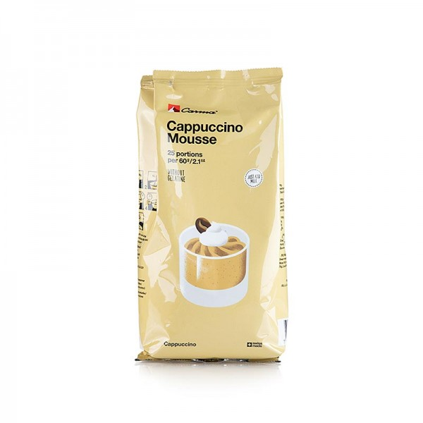 Carma - Mousse Pulver - Cappuccino