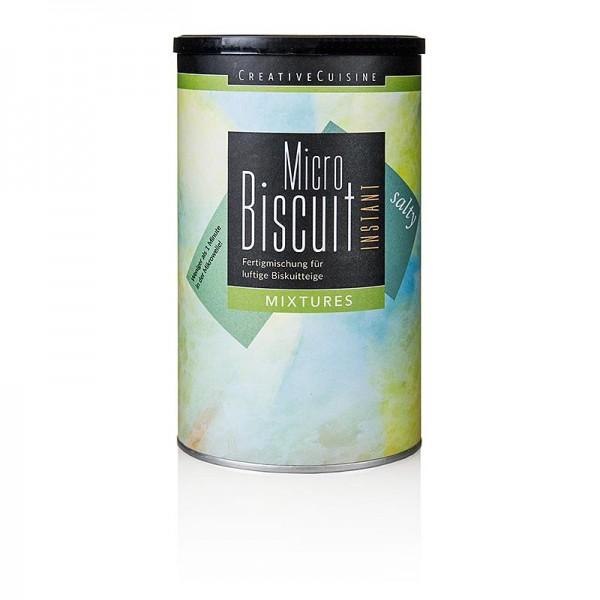 Creative Cuisine - MicroBiscuit salty Teigmischung