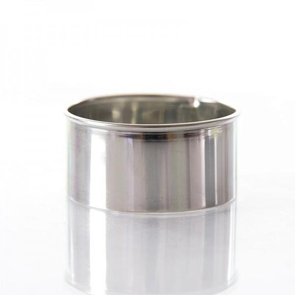 Deli-Vinos Kitchen Accessories - Edelstahlring-Ausstecher glatt ø 5cm 2.5cm hoch 0.3mm stark