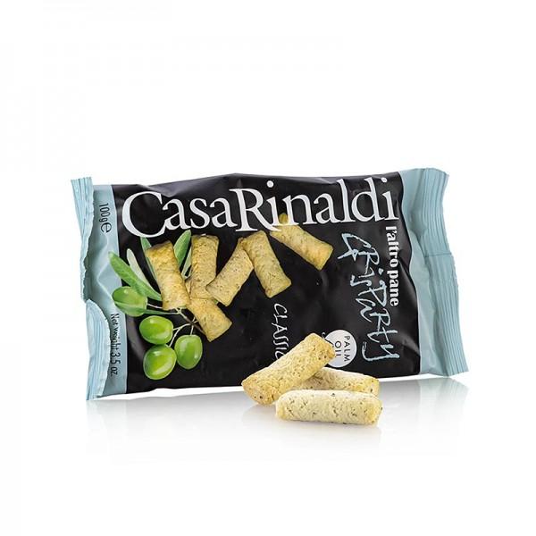 Casa Rinaldi - Grisparty - Mini Grissini Knabbergebäck mit Olivenöl Casa Rinaldi