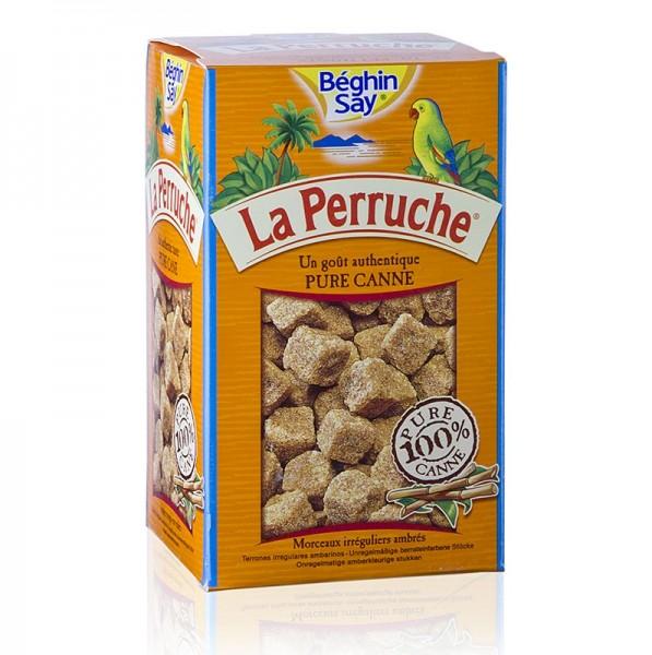 La Perruche - Rohr-Zucker braun in Würfeln La Perruche