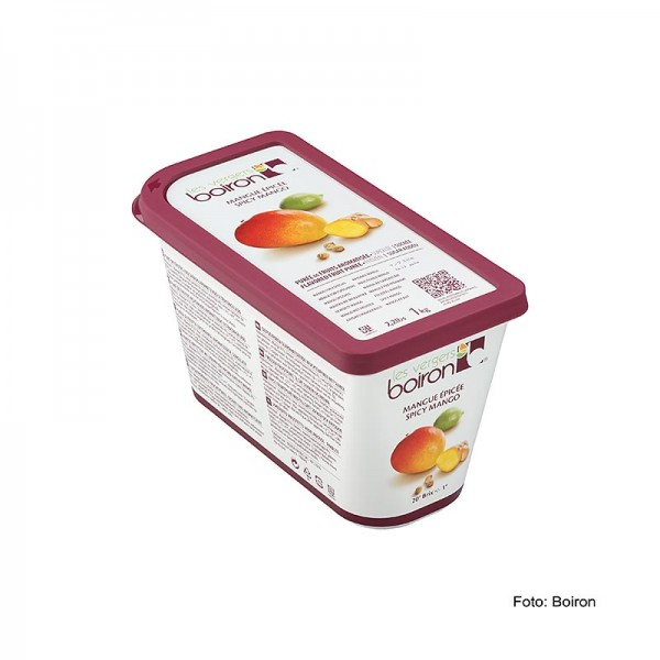 Les Vergers Boiron - Püree-Mango (Mangue Epicée) mit Ingwer & Koriander TK